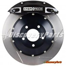 Stoptech ST-40 4-Piston E46 BMW M3 Big Brake Kit, Slotted Rotor - Front